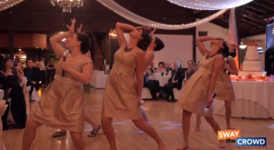 Pitch Perfect Final Performance at a Wedding Reception – Flashmob
