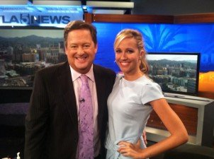 Anna Camp Dishes on 'True Blood' and 'Pitch Perfect 2′ during an interview with KTLA