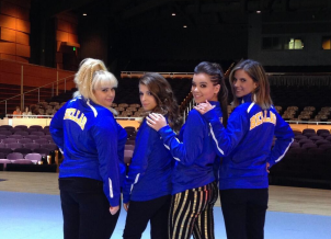 Behind the Scenes from the set of Pitch Perfect 2!