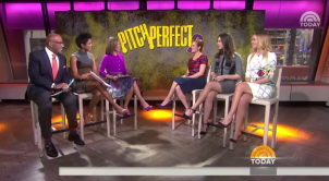 Pitch Perfect 2 stars on the Today Show